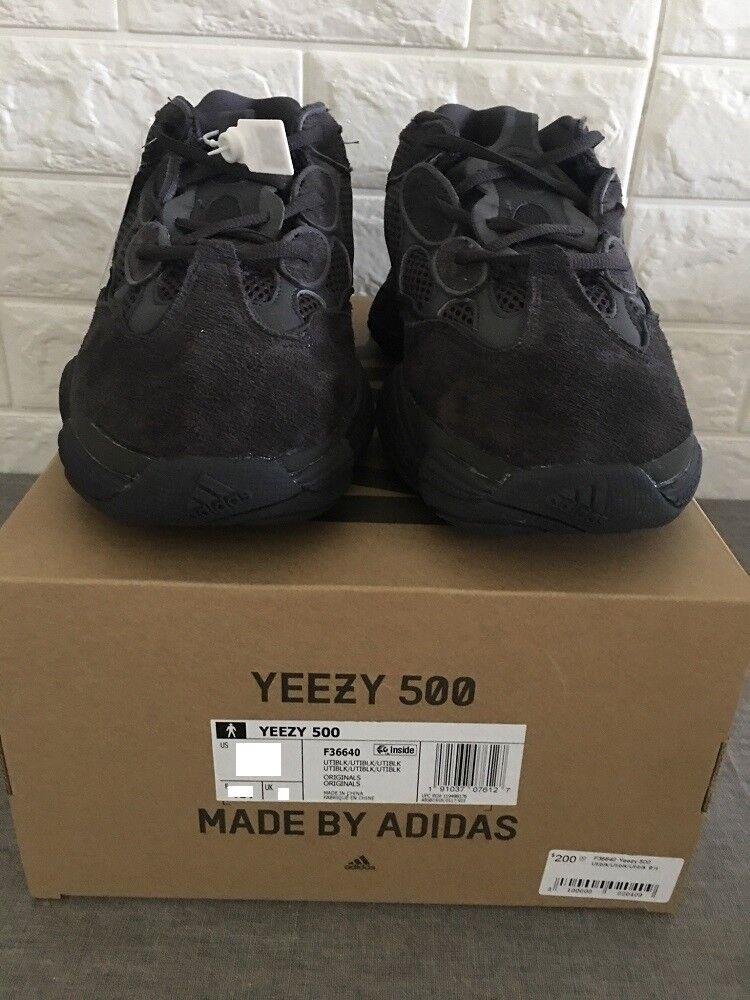 Barco Adidas Yeezy negro 500 utilidad negro Yeezy 4 a 13 de f36640 Kanye West Boost 48cb2a