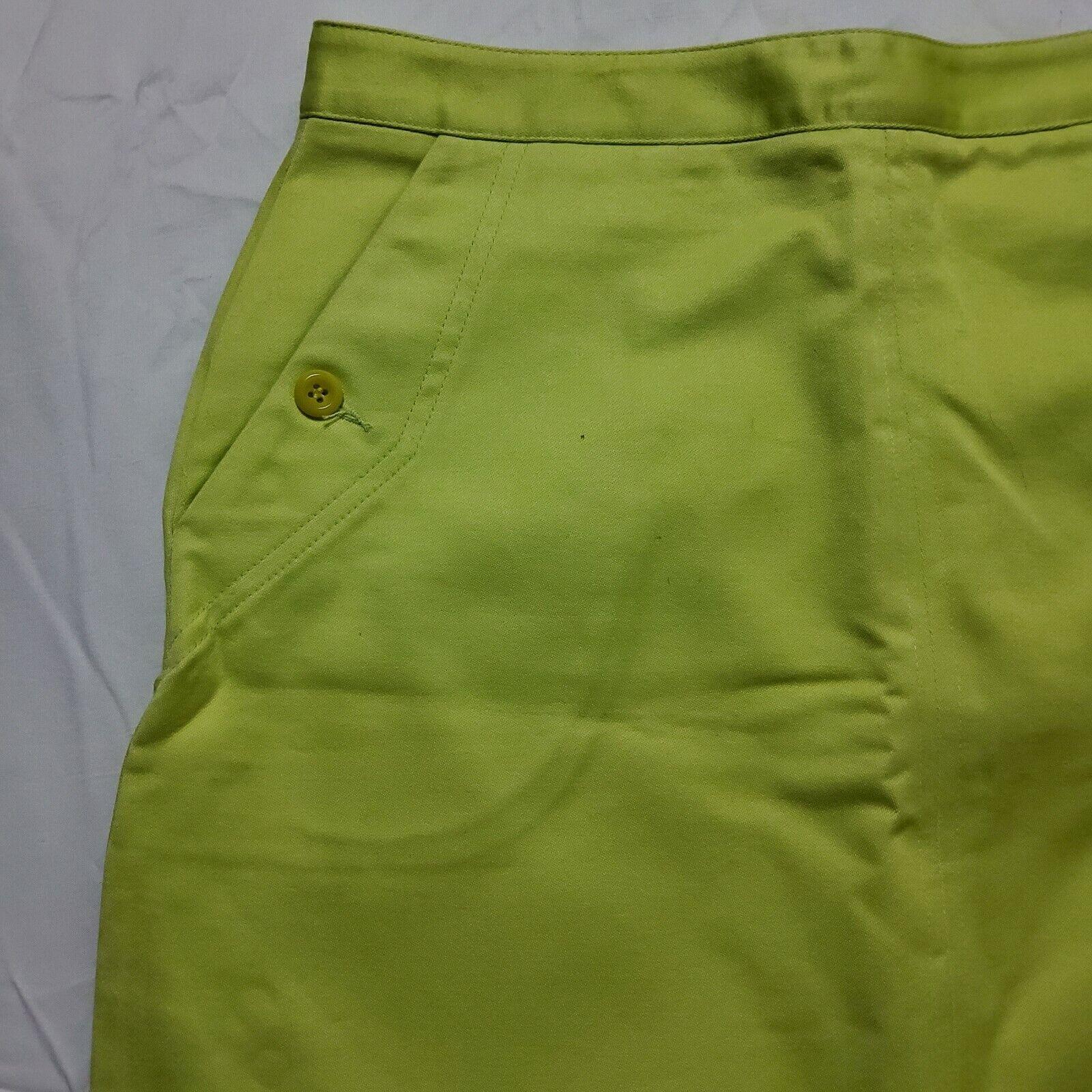 Esprit Neon Green Skirt - image 3