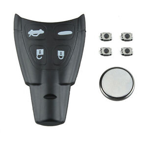Details about For SAAB 93 95 9-3 9-5 Replacement Remote Key FOB CASING  SHELL repair KITEBAU TK