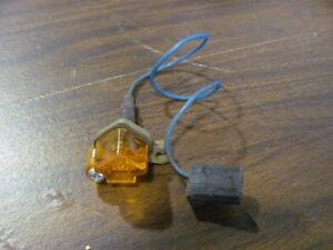 NOS 67 68 Cadillac RH Fender Top Turn Signal Indicator Lamp 5959306 Unused