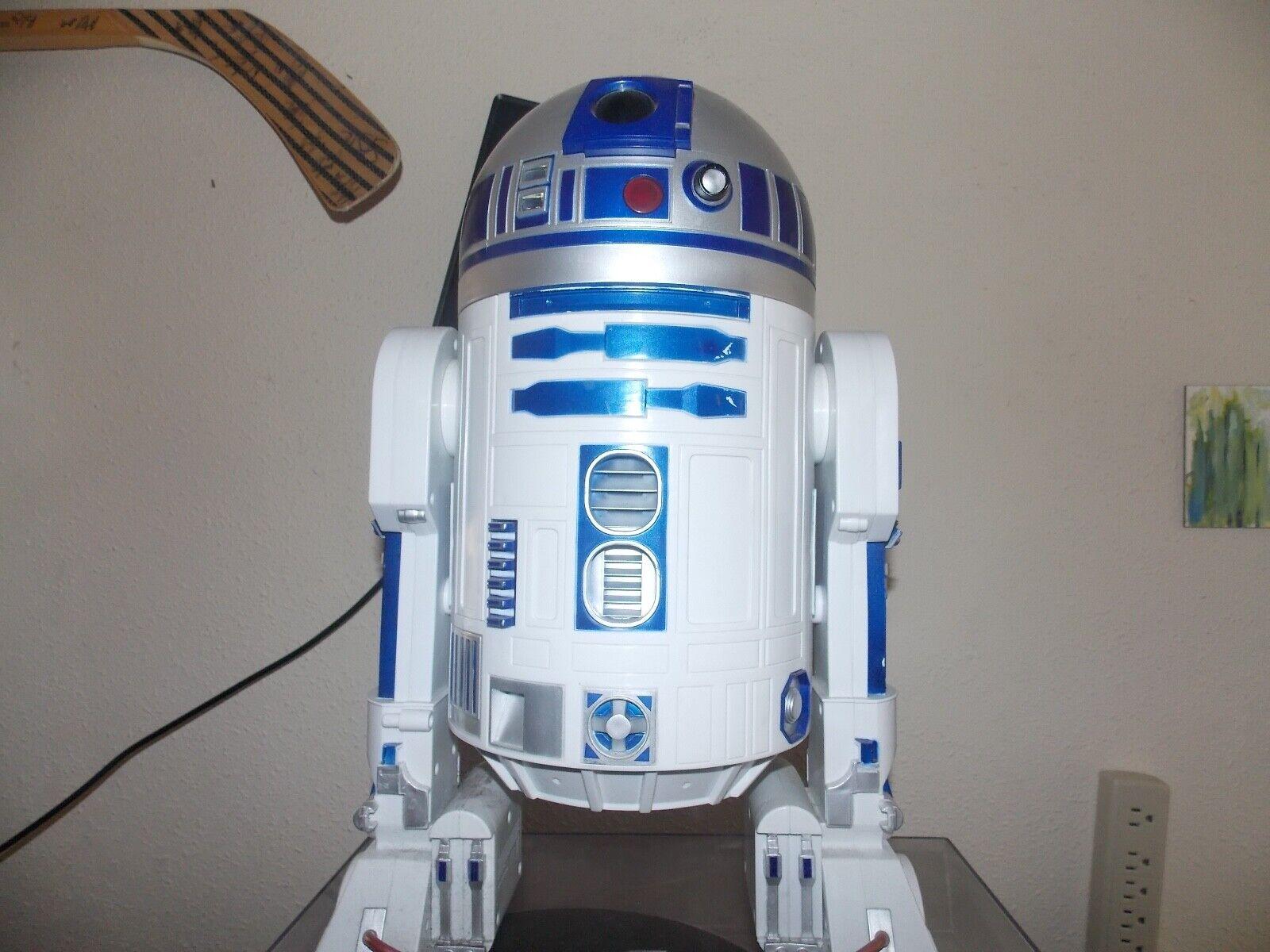 2-Star Wars R2-D2 13 inch Large Electronic Bot + Electronic Yoda