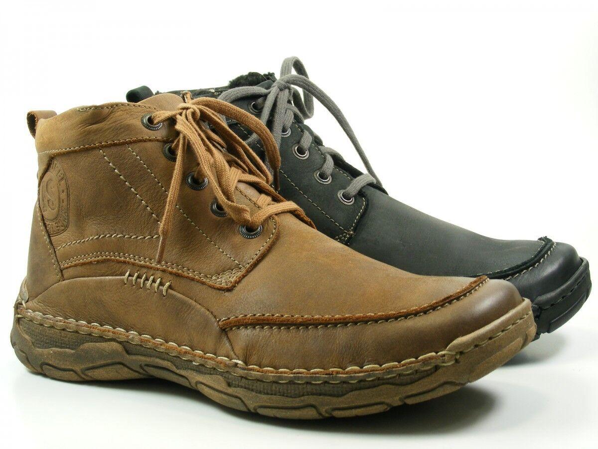 Josef Seibel 25142-pl81 Dominic 09 zapatos caballero botas cálidas forro