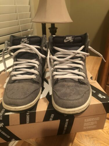 Nike Sb dunk high neutral grey anthracite size 9.5