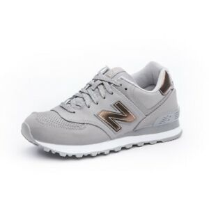 Details about New Balance 574 WL574VJB Grey Bronze Womens Size 11 Running Shoe NEW IN BOX