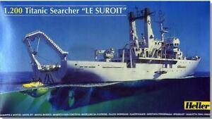 HELLER 1/200 LESUROIT TITANIC SALVAGE & RESEARCH SHIP 80615