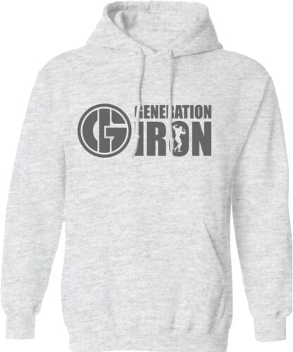 Generation Iron Hoodie Gym Workout Fitness Training MMA UFC Clothing