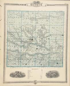 Details about Antique Map Keokuk County Iowa - Andreas Atlas of the on oelwein iowa state map, cresco iowa state map, des moines iowa state map, ankeny iowa state map, dubuque iowa state map, walcott iowa state map, burlington iowa state map, grinnell iowa state map, ames iowa state map,