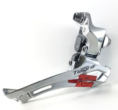 New Shimano Tiagra FD-4600 Front Derailleur Double Braze On Road TT Triathlon