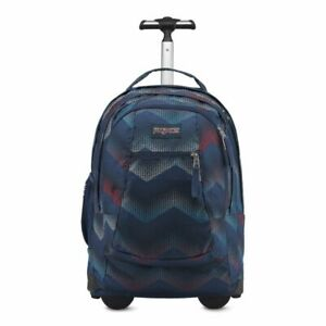 ed00f9961272f Image is loading JanSport-Driver-8-Rolling-Backpack-Matrix-Chevron