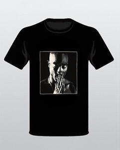 Tupac Black Hip Tee 2pac Praying T Hop Rapper Shirt New Pac Yb7g6fvy