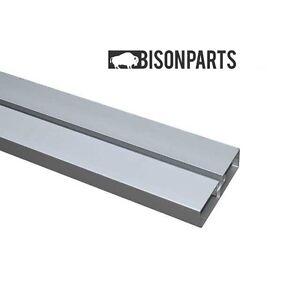 +4 mètre garde latérale rail uniquement en aluminium anodisé-neuf BP27-052-afficher le titre d`origine lbj9pmGU-07190931-990769516