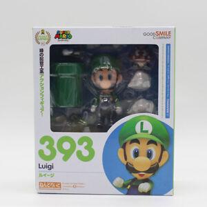 Nendoroid-Super-Mario-Brothers-Luigi-Mario-PVC-Action-Figure-Model-Toy