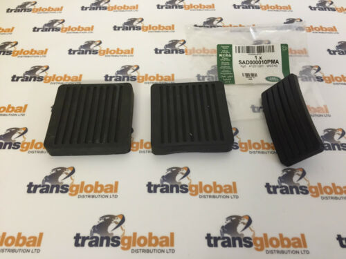 SAD000010PMA x1 61K738 x2 Land Rover Defender TDCI PUMA Pedal Rubber Set