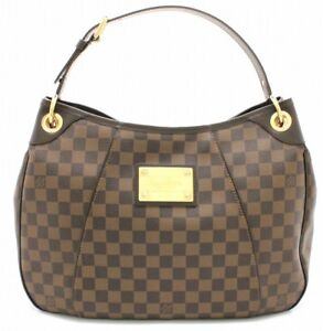 LOUIS-VUITTON-Damier-Galliera-PM-N48212-Ebene-Hand-Tote-Bag-Never-Used-Mint