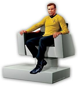 Capt-Kirk-Star-Trek-chunky-thick-fridge-magnet-nm
