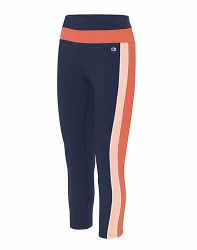 Champion Women/'s 7//8 Leggings Authentic Double Dry Stretch 25-inch inseam pocket