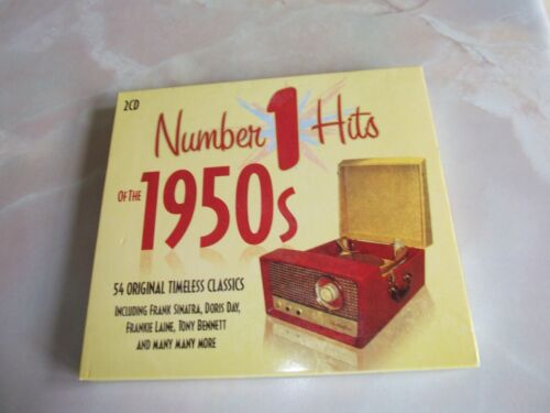 1 of 1 - NUMBER 1 HITS OF THE 1950s - 54 ORIGINAL CLASSICS TWIN CD SET (2008).