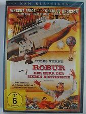 Robur Herr der 7 Kontinente - Charles Bronson, Vincent Price, Jules Verne sieben