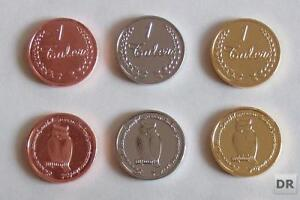 50 Münzen Eule Larp Geld Larpmünzen Larpgeld Muenzen Spielgeld