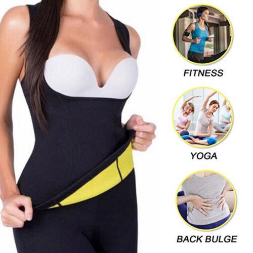 Sport Yoga Fit Slimming Body Shaper Neoprene Sauna Sweat Waist Trainer Tank Top