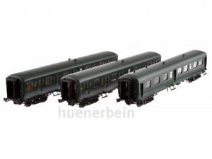 LS Models 42174 3er Set SNCB 2.Kl. PersonenWag Nord Belge grün Ep3 NEU+OVP