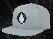 New Volcom Open Stone Mens Snapback Cap Hat