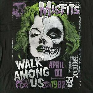 Misfits Men S S T Shirt Walk Among Us Poster Licensed Concert Tour Band Merch Ebay