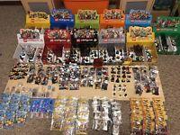 367 LEGO Minifigures Series 1-16 Movie Team GB DFB Batman Disney Complete Sets
