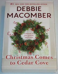 NEW - CHRISTMAS COMES TO CEDAR COVE by Debbie Macomber ...