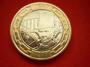 2 2006 Isambard Brunel Engineer  2 Pound Coin    Free Post - cheshire, United Kingdom - 2 2006 Isambard Brunel Engineer  2 Pound Coin    Free Post - cheshire, United Kingdom