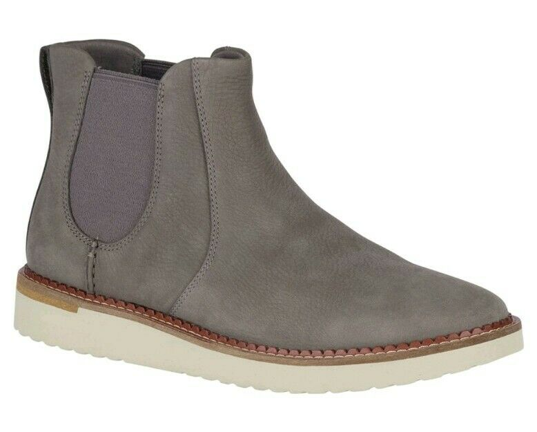 Nuevo Para hombres (elija tamaño) SPERRY Camden Chelsea bota. nbuck gris. Ancho medio