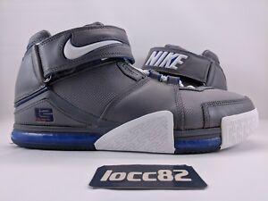 302eb86239a Nike Zoom LeBron II 2 Cool Grey   White - Varsity Royal OG (309378 ...