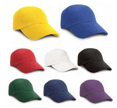 Aktiv Low Profile Heavy Brushed Baseball Cap Basecap Kappe Reines Und Mildes Aroma