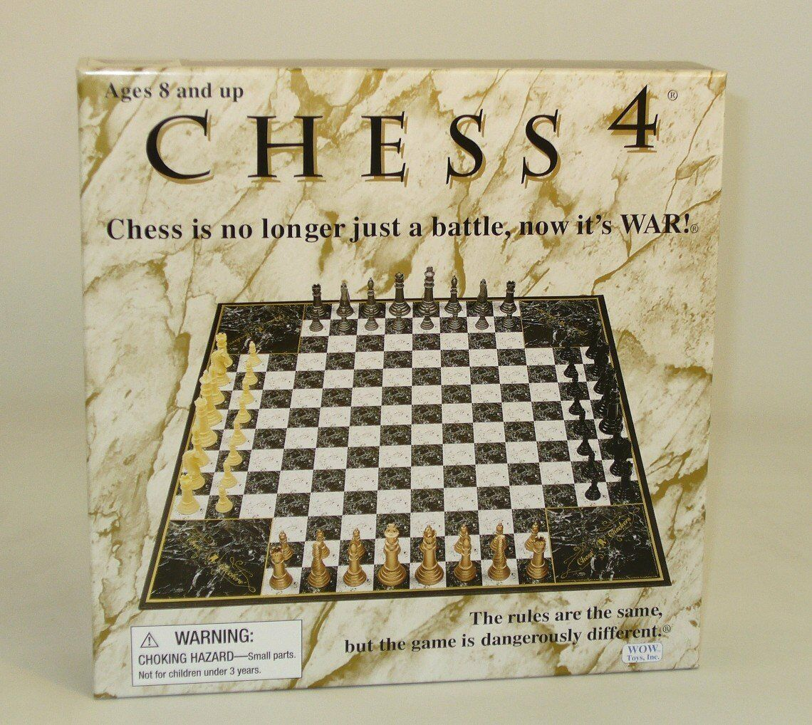 4-player chess John N. Hansen  Chess 4 non-traditional chess. Four. strategic