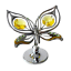 Crystocraft-Butterfly-Ornament-Crystal-Ornament-Swarovski-Elements-Gift-Box thumbnail 10
