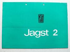 Prospekt NSU Fiat Neckar Jagst 2, ca.1960, 8 Seiten, folder