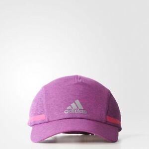 ADIDAS RUN CLIMACHILL CAP -- GOLF - RUNNING--PURPLE PINK CAP -LIGHT ... 6455c463ac40