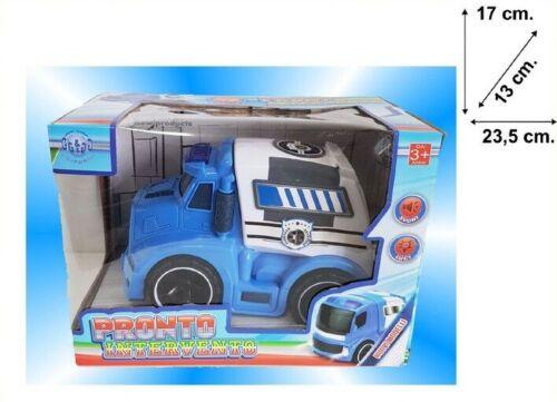 Pronto Intervento Ambulanza Polizia Macchina Giocattolo Gioco Bambini sar