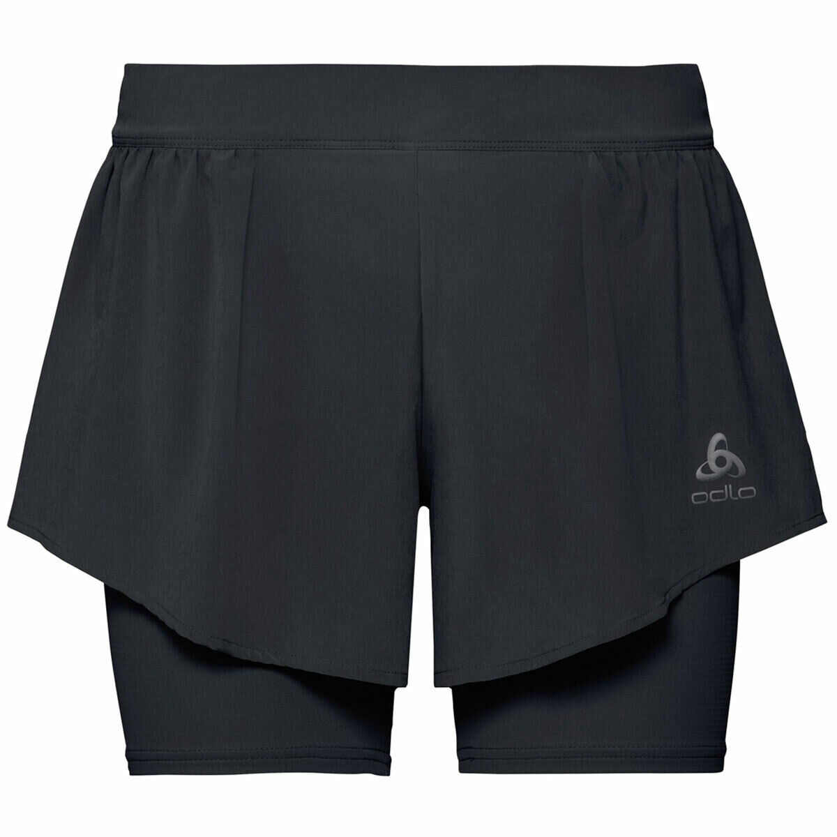 Odlo ZEROWEIGHT CERAMICOOL PRO 2-IN-1 SHORTS Lady   322091-15000 Hose + Tight