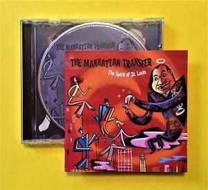 Manhattan-Transfer-039-The-Spirit-of-St-Louis-039-CD-Atlantic-2000-Quality-jazz