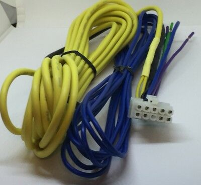 KENWOOD KSC-SW11 10 Pin POWER /& RCA INPUT HARNESS w//17ft power Wire /& 12ft RCA