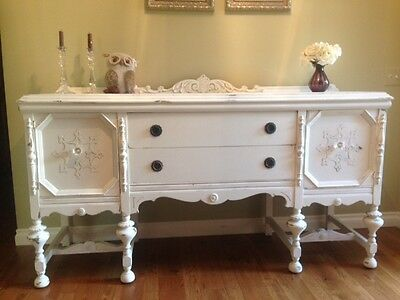 Antique Buffet Shabby Chic