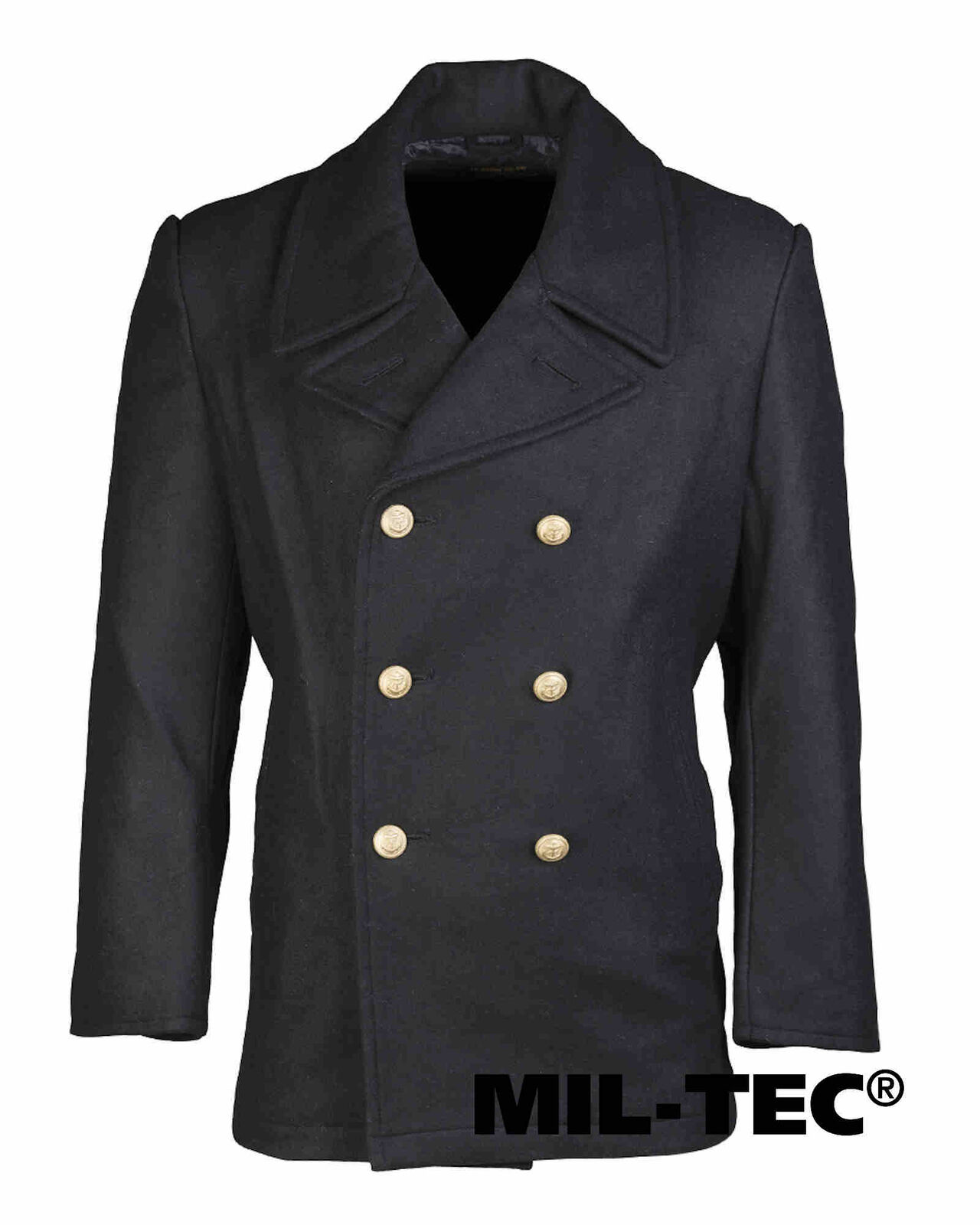 Mil-Tec BW BW BW MARINE COLANI TUCH DK.BLAU KN.Gold Outdoorjacke Jacke 0f7436