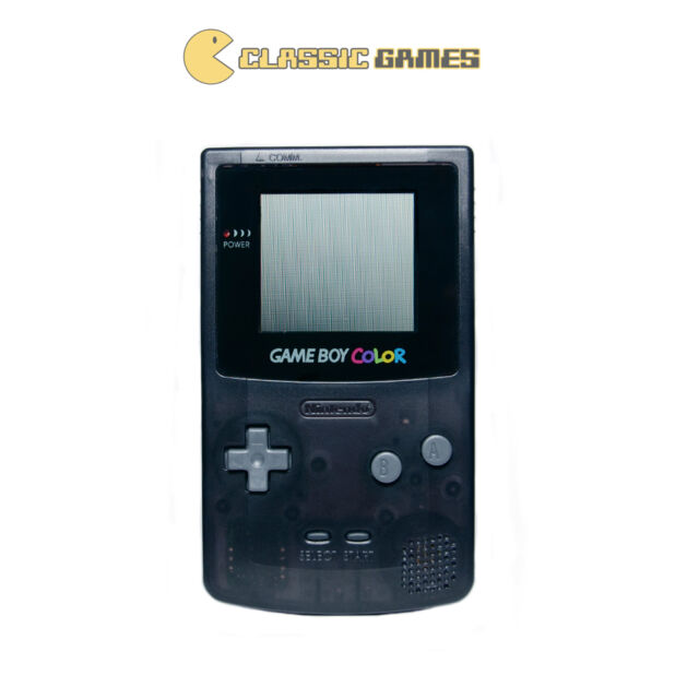 Nintendo GameBoy Color - Clear Black - Refurbished