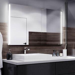 Badspiegel mit LED Spiegel mit Beleuchtung Wandspiegel ...