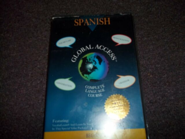 Global Access Beginning SPANISH Complete Language Course Audio Cassettes
