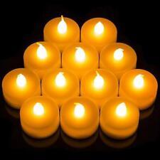 Flameless LED Candle Battery Operated Tea Light Flickering Wedding Easter UK