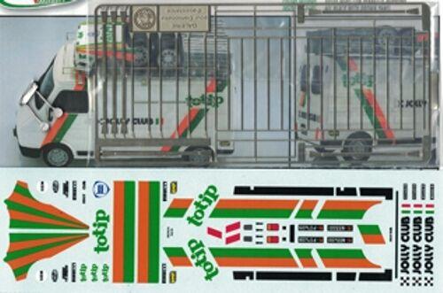 Transkit Transkit Transkit 1 43 FIAT 242 ASSISTENZA JOLLY CLUB TOTIP anni 1980 Arena Tk55 e0c06a
