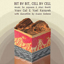 FREE US SHIP. on ANY 2 CDs! USED,MINT CD Yoav Gal & Yael Kanarek: Bit By Bit, Ce
