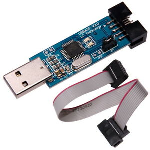 USB-ISP-USBASP-Programmer-Programmierer-mit-Kabel-fur-Atmel-AVR-ATMega-51-ATTiny